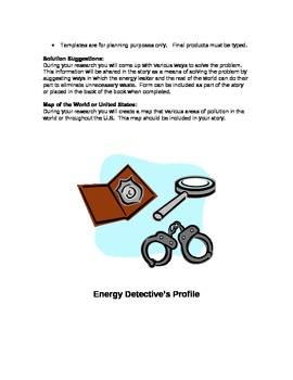 Energy Detective Mystery Stories