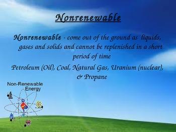 Energy Dictionary - Energy Vocabulary