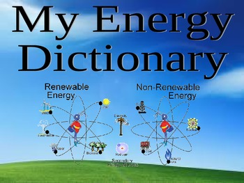 Energy Dictionary - Energy Vocabulary