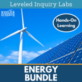 Energy Differentiated Inquiry Labs Bundle