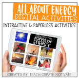Distance Learning Energy Digital Activities