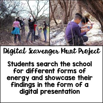 Energy Digital Scavenger Hunt Project