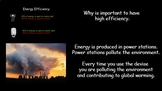 Energy Efficiency + Free Famous Scientists & literacy in Science