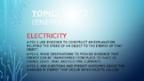 Energy (Electricity, Electric Motors, Speed & Energy)