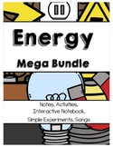 Energy (Electricity, Sound, Light, Heat) MEGA BUNDLE 345 Pages Differentiated