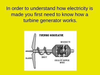 Energy Electricity Turbine Generator