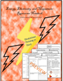Energy, Electricity, and Magnetism - Resource Folder/Notebook