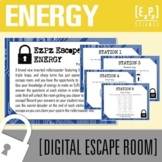 Energy Escape Room- Science Escape Room