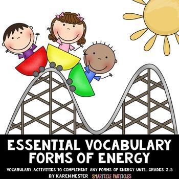 Energy: Essential Vocabulary