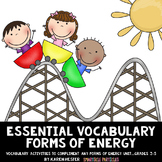 Energy: Essential Vocabulary