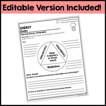 Energy Exam - Assessment