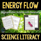 Energy Flow in Ecosystems  - Science Literacy Article