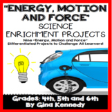 Energy, Force, & Motion Creative Enrichment Projects, Pict