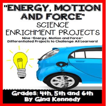 Energy, Force, & Motion Creative Enrichment Projects, Pict