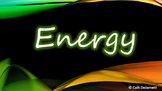 Forms of Energy (Light, Sound, and Heat) Interactive PowerPoint