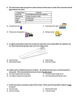Energy Form Assessment