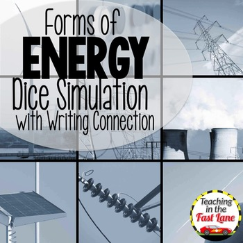Energy Forms Dice Simulation With Writing Connection