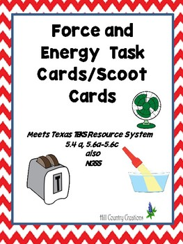 Energy Forms and Functions Task Cards/Scoot Cards...Good f