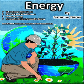 Energy: Forms of Energy Doodle Dat Notes and PowerPointPresentation