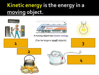 Energy, Forms of energy, Energy transformations, Conservation, Fuels