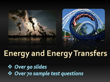Energy, Forms of energy, Energy transformations, Conservat