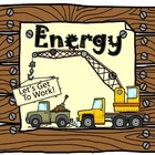 Energy- Forms of energy minibook plus activity and vocabul