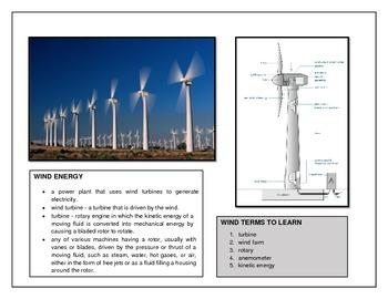 Energy Fundamentals - Renewables & Non-Renewables- Grades 4-8