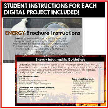 Energy Projects Google Classroom