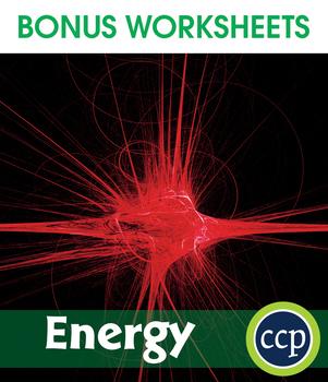 Energy Gr. 5-8 - BONUS WORKSHEETS