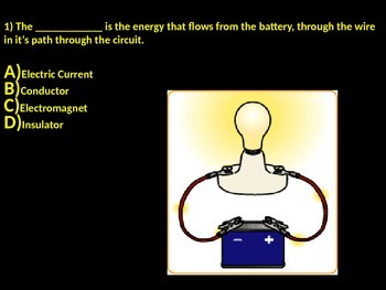 Energy, Gravity, Electricity, Light Quiz 1.5