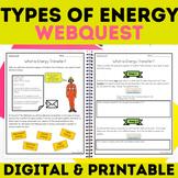 Energy   Heat Sound Light Mechanical Electrical WebQuest Science Inquiry Google