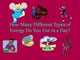 Energy Homework