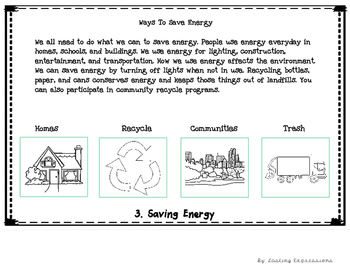Energy - Interactive Flip Notebook