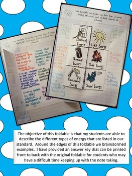 Energy-Interactive Notebook
