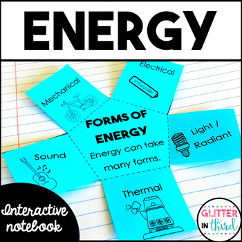 50% OFF FOR 48 HOURS Energy Interactive Notebook