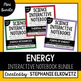Energy Interactive Notebook Unit Bundle