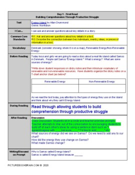 Energy Island 4-5 Day Lesson Plan