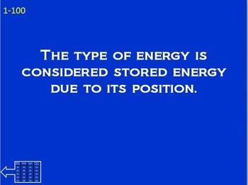 Energy Jeopardy
