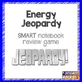 Energy Jeopardy SMART notebook game