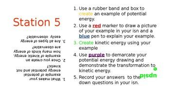 Energy Lab Task Cards