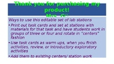 Energy Lab Task Cards