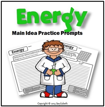 Energy: Main Idea Practice Prompts