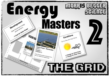 Energy Masters 2: THE GRID - (Energy Resources Game!)