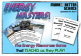 Energy Masters! The Energy Resources Game that Teaches as they Play