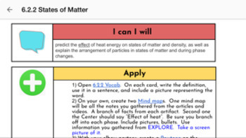 Energy & Matter SEEd