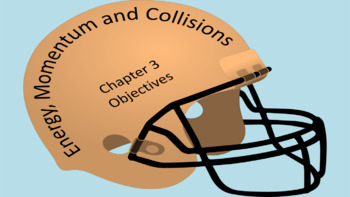 Energy Momentum and Collisions (Chapter 3)