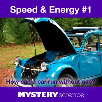 Energy & Motion NGSS:Speed & Energy ❤ BUNDLE:Activity, Rea
