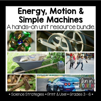 Energy, Motion and Simple Machines Lab Bundle