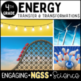 Energy Unit - Fourth Grade - Science - Complete Unit - No Prep! **NGSS Aligned**