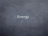 Energy Notes